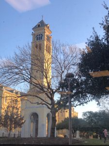 St. Mary's University Bell Tower, located in San Antonio, Texas