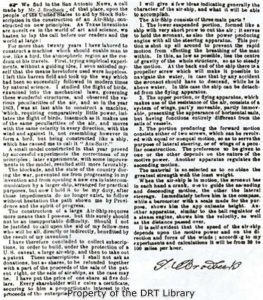 Black and white; Newspaper article