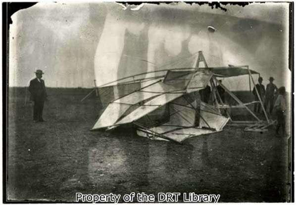 Photograph of Airplane Crash