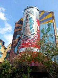 Virgin Mary Mosaic, San Antonio, , Texas
