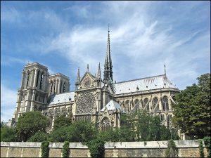 Cathedral, Paris, France, Norte Dame, French, Gothic